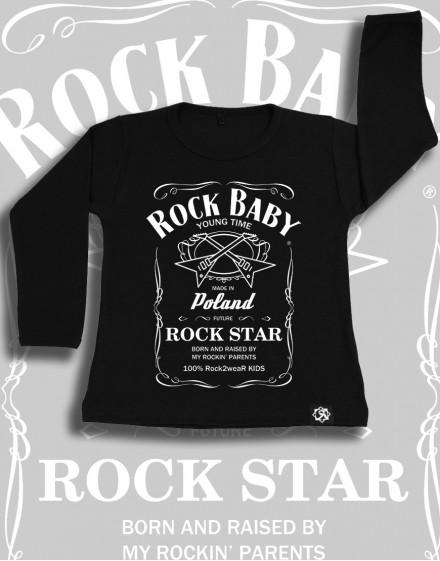 Longsleeve dzieciecy Rock2weaR Whisky Baby