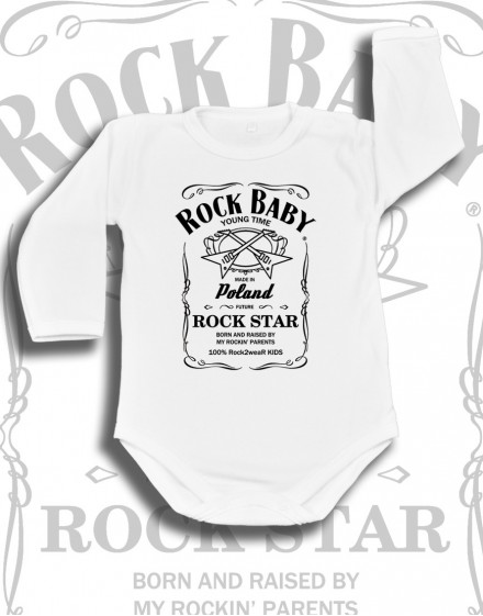 Body dziecięce Rock2weaR WHISKY BABY