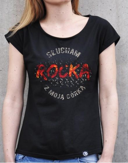 Koszulka Rock2weaR slucham z córką
