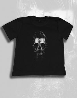Koszulka dziecięca CZASZKA ROCKABILLY