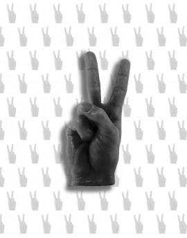 świeca PEACE&LOVE / VICTORIA czarna