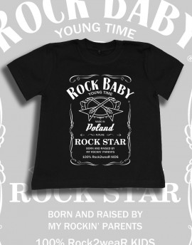 Koszulka dziecięca ROCK BABY