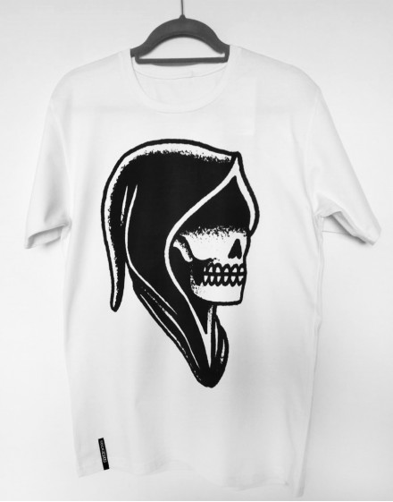 Koszulka czaszka  kapturze