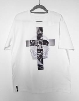 Koszulka  Krzyż i czaszka