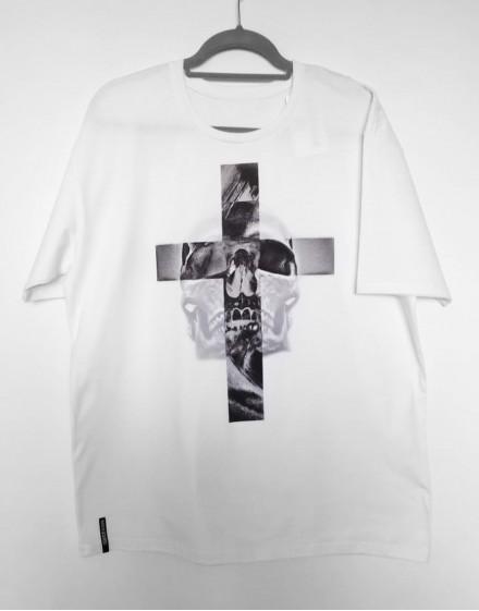 Koszulka krzyż i czacha