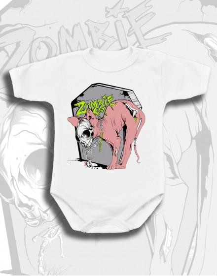 Body dziecięce Rock2weaR ZOMBIE CAT