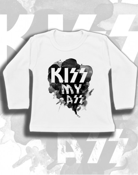 Longsleeve dzieciecy Rock2weaR KISS MY ASS