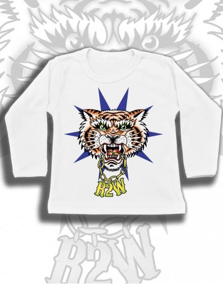 Longsleeve dzieciecy Rock2weaR Tygrys