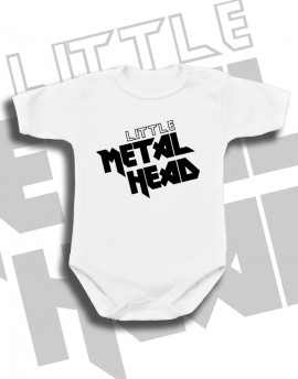 Body dziecięce LITTLE METAL HEAD