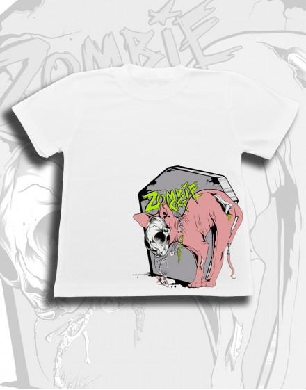 Koszulka dziecięca ZOMBIE CAT