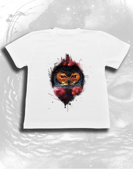 Koszulka dziecięca GALAKTYCZNA SOWA