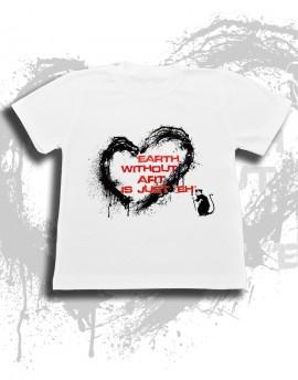 Koszulka dziecięca EARTH WITHOUT ART ostatnie sztuki
