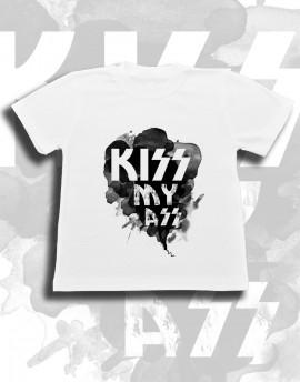 Koszulka dziecięca KISS MY ASS