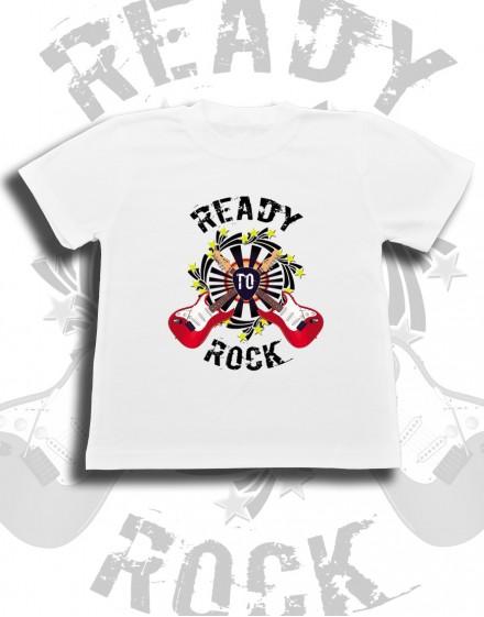 Koszulka dziecięca READY TO ROCK