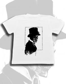 Koszulka dziecięca CZASZKA DŻENTELMEN