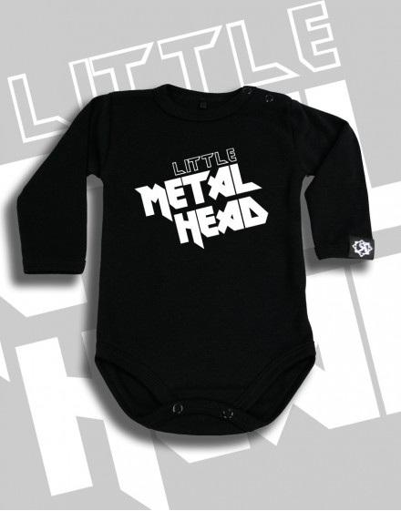 Body dziecięce Rock2weaR Little Metal Head