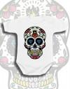 Body dziecięce Rock2weaR sugar skull