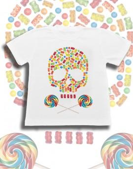 Koszulka dziecięca CANDY SKULL